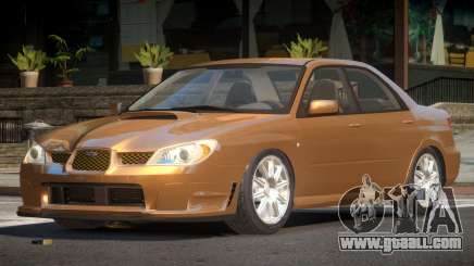 Subaru Impreza GS for GTA 4