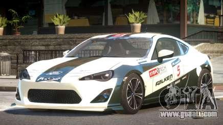 Subaru BRZ GT Sport PJ6 for GTA 4