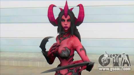 Female Demon for GTA San Andreas
