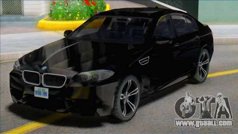 2012 BMW M5 (F10) SA Style for GTA San Andreas