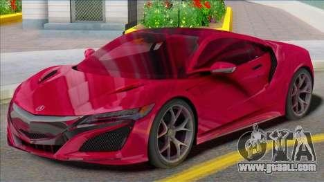 Acura NSX SA for GTA San Andreas