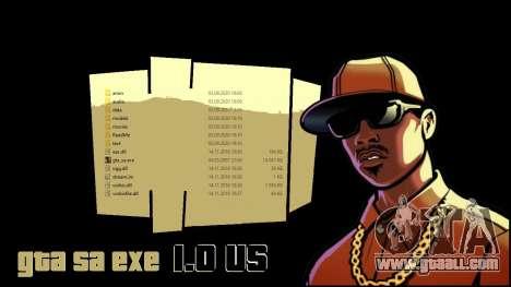 GTA_SA.EXE 1.0 US original version for GTA San Andreas