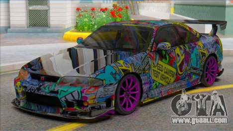 Nissan Skyline GTR Sticker Bomb for GTA San Andreas