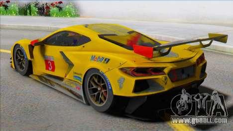 Chevrolet Corvette C8R for GTA San Andreas