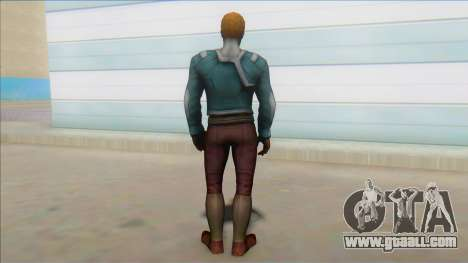 Starlord Mff Unmasked for GTA San Andreas