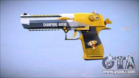 Champions Arena (Desert Eagle) for GTA San Andreas