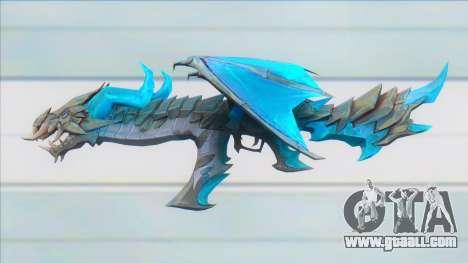 Ak47 Devil Dragon - Garena Free Fire for GTA San Andreas