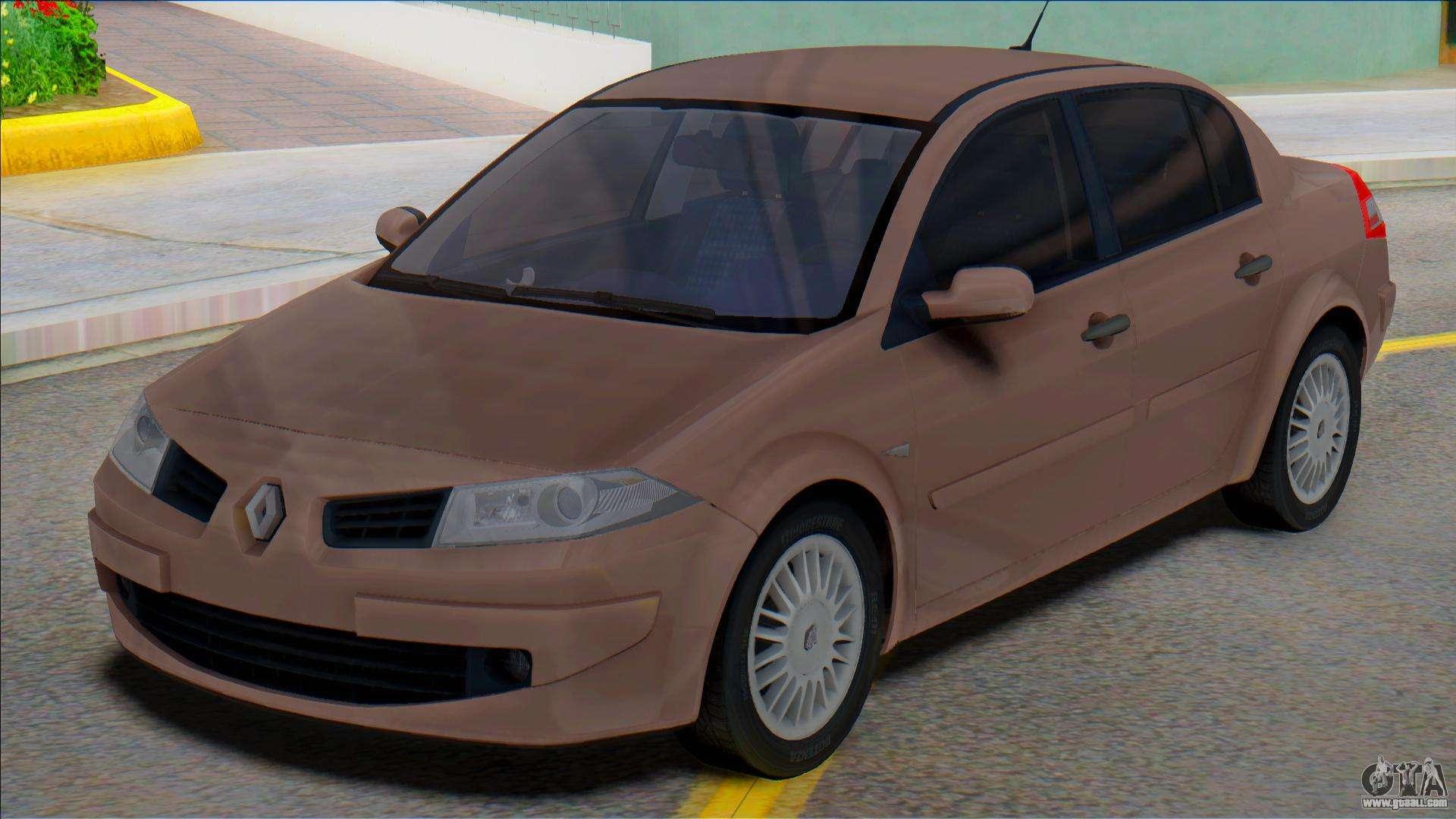 Renault Megane Ii 2007 For Gta San Andreas