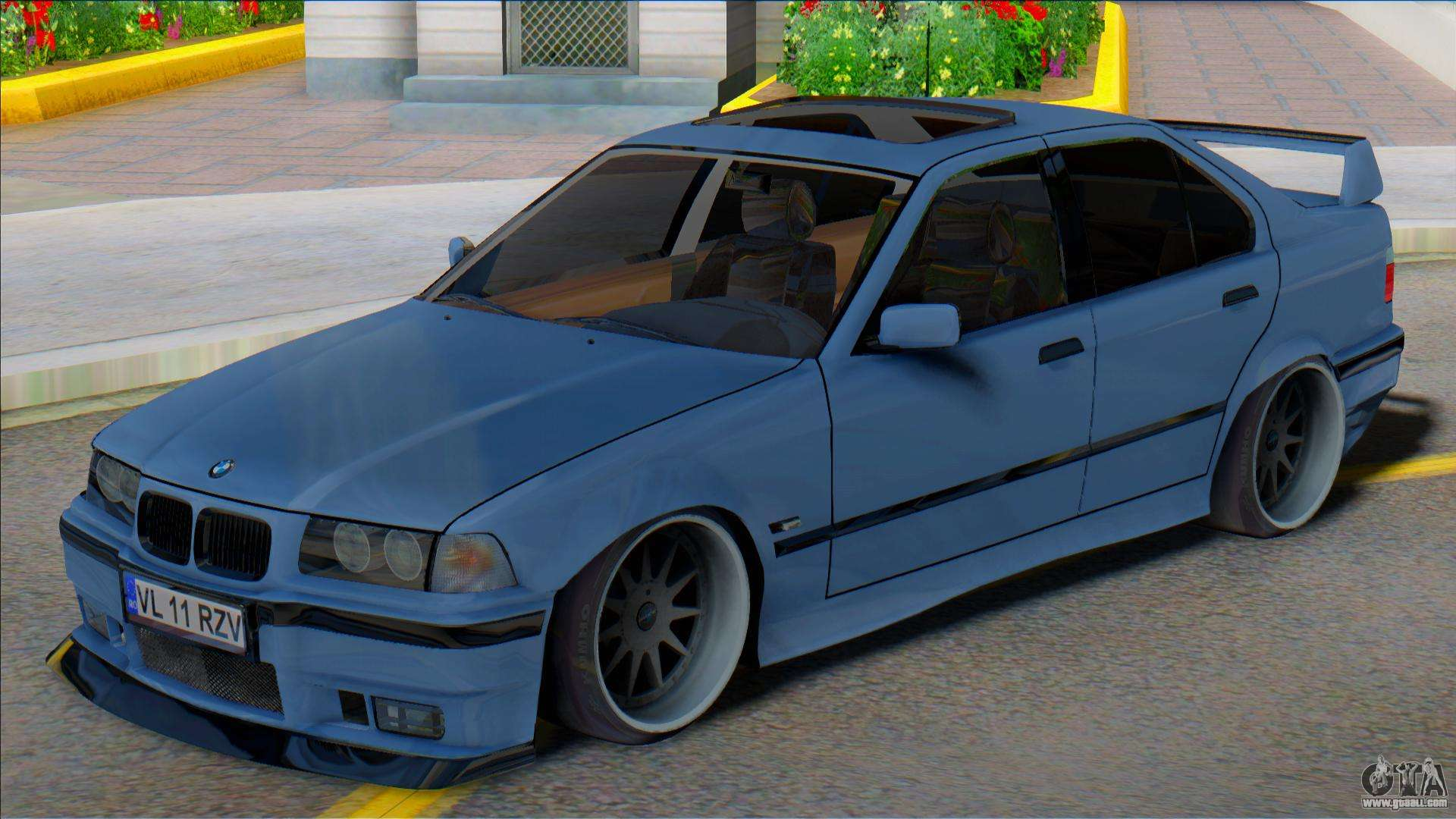 Bmw E36 Sedan Low For Gta San Andreas