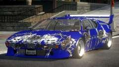 1979 BMW M1 PJ9 for GTA 4