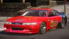 Nissan Silvia S14 Drift PJ4 for GTA 4