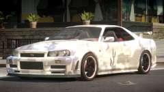 Nissan Skyline R34 GS PJ2 for GTA 4