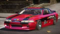 Nissan Silvia S14 Drift PJ6 for GTA 4