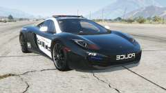 McLaren MP4-12C Hot Pursuit Police for GTA 5