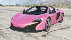 McLaren 650S Spider 2014 for GTA 5