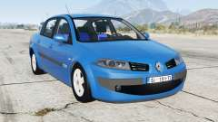 Renault Megane sedan 2009 for GTA 5