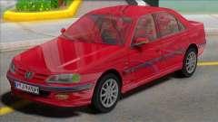 Ikco Peugeot Pars TU5 for GTA San Andreas