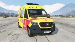 Mercedes-Benz Sprinter Ambulancia for GTA 5