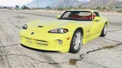 Dodge Viper GTS ACR 1999 for GTA 5