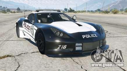 Chevrolet Corvette C7.R Pursuit Edition add-on for GTA 5