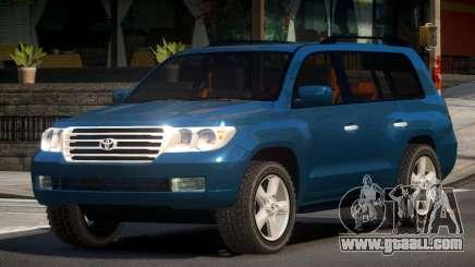 Toyota Land Cruiser 200 GST for GTA 4