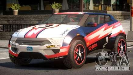 Lagoon Car from Trackmania 2 PJ2 for GTA 4