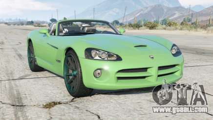 Dodge Viper SRT-10 Roadster (ZB I) 2005 for GTA 5