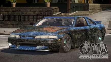 Nissan Silvia S14 Drift PJ7 for GTA 4