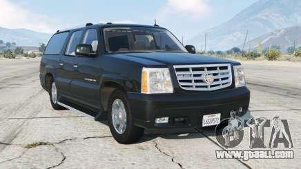 Cadillac Escalade ESV (GMT800) Unmarked [ELS] for GTA 5