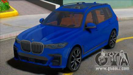 BMW X7 2019 for GTA San Andreas