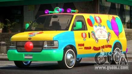 Vapid Clown Van for GTA 4