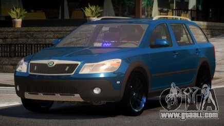 Skoda Octavia Spec for GTA 4