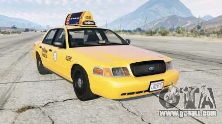 Ford Crown Victoria Taxi for GTA 5