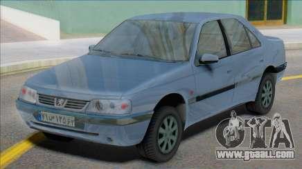 Peugeot 405 SLX Iran Plates for GTA San Andreas