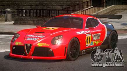 2007 Alfa Romeo 8C L4 for GTA 4