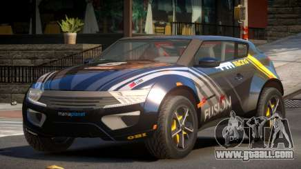 Lagoon Car from Trackmania 2 PJ3 for GTA 4