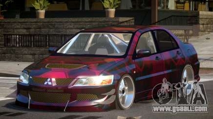 Mitsubishi Lancer Drift PJ5 for GTA 4