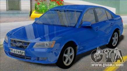 Hyundai Sonata 2008 Iran Plates for GTA San Andreas