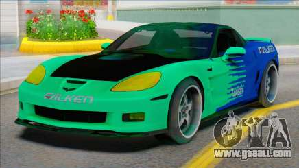 Chevrolet Corvette C6 FALKEN for GTA San Andreas