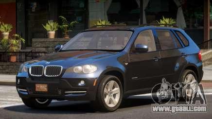 2007 BMW X5 E70 for GTA 4