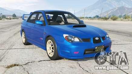 Subaru Impreza WRX STi (GDB) Ձ006 for GTA 5