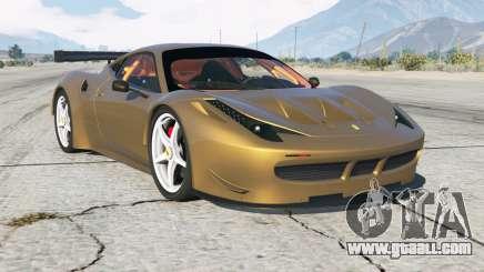 Ferrari 458 GT2 for GTA 5