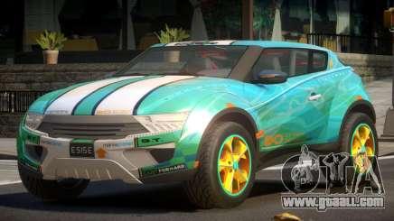 Lagoon Car from Trackmania 2 PJ11 for GTA 4