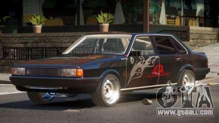 1985 Audi 80 B2 PJ6 for GTA 4