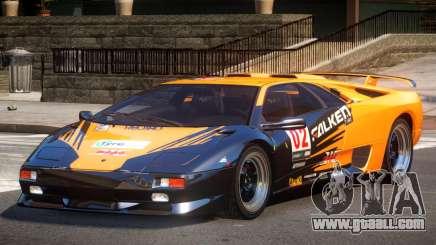Lamborghini Diablo Super Veloce L4 for GTA 4
