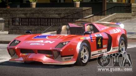 Island Car from Trackmania PJ4 for GTA 4