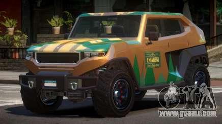 Canis Freecrawler L4 for GTA 4