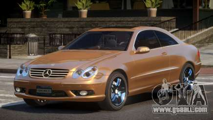 Mercedes Benz CLK55 GST for GTA 4