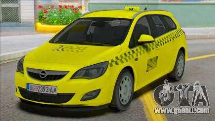Opel Astra J Kombi Taxi for GTA San Andreas