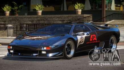 Lamborghini Diablo Super Veloce L6 for GTA 4